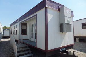 Sales Center Trailer for New Construction