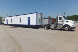 Storage and Office Trailers for Industrial Fields