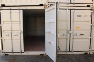 Can You Work Out of a Storage Container?
