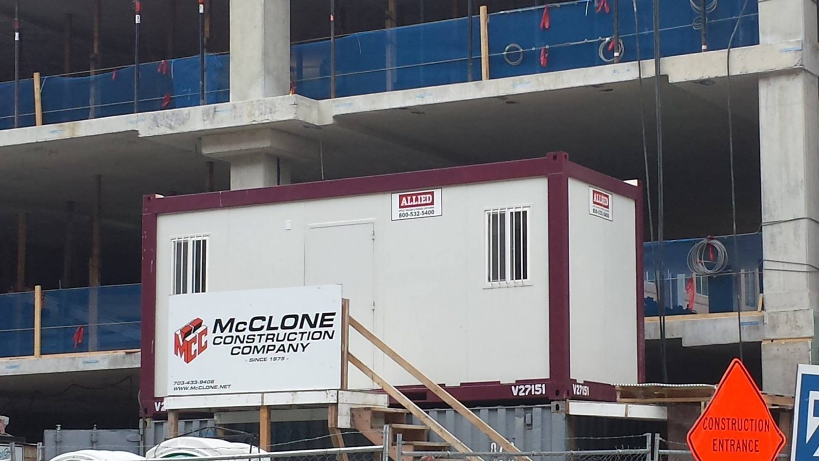 Learn about the benefits of using a mobile officer container as a press box.