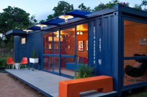 Mobile Storage Container Pop-Up Shop