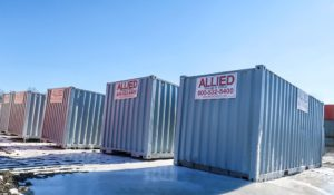 Keeping a Mobile Storage Container Cool