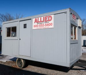 Renting an Office Trailer or Container