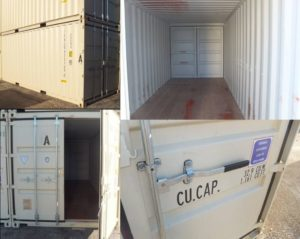 How to Open a Mobile Storage Container